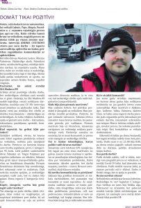 Intervija ar skolas absolventu Andri Cvetkovu